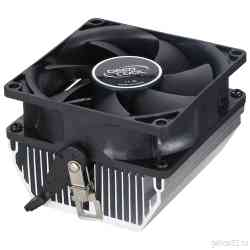DEEPCOOL CK-AM209 AM4/AM3+/FM2+ (TDP 65W, Al/80mm, 28dBA, 3pin) RTL кулер