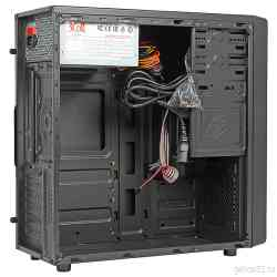 Case 3COTT Middle tower 3C-ATX-J107 Black, ATX, 450W, USB2.0/audio