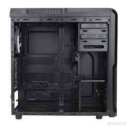 Case ZALMAN Miditower Z3 Black, No PSU, ATX, 3*120mm fun, USB3.0, Audio